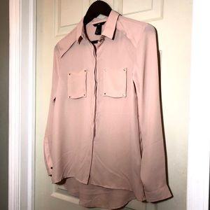 H&M button blouse Size 2